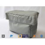 China Grey High Temperature Fire Resistant Removable Insulation Covers for sale