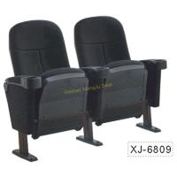 China Foldable Church Cinema Home Theater Seating Chairs With Flame Retardant Fabric for sale