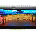 High brightness indoor P4 stage background led display big screen , dot density is 62500/sqm for sale