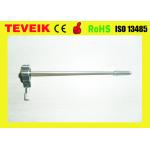 Reusable ultrasound biopsy needle guide for GE E8C ultrasound Probe