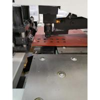 Low Noise CNC Plate Punching And Marking Machine , Steel Plate Machine Long Life for sale