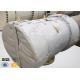 China 550C Neoprene Coated Fiberglass Fabric Insulation Jacket Thermal Insulators for sale