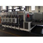 360 Degree Phase Adjustment Automatic Corrugated Flexo Printer Slotter Machine / Carton Making Machine for sale