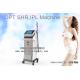 China Vertical One Handle SHR IPL Hair Removal Machine With U.K. Lamps 1 Million Shots for sale