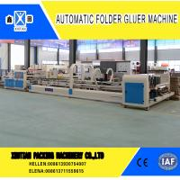 Vacuum Feeding Carton Making Machine Stainless Steel With Touch Screen Control System for sale