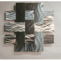ODM Modern Abstract Stainless Steel Wall Sculpture For Home / Gallary Decoration for sale