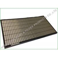 Durable Meerkat 165 X 585mm Oil Vibrating Sieving Mesh Dewatering Screens for sale