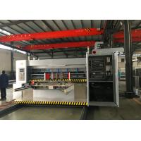 Fully Automatic Carton Water ink Printing Slotting Die Cutting Folding Gluing Bundling Machine for sale