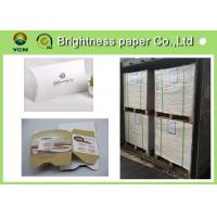 China Mixed Pulp Material White Cardboard Sheets For Cosmetics Packing 700 * 1000mm for sale