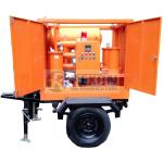 ZYD-M-30 Mobile Transformer Oil Purifier Machine 1800 Liters / Hour Process Capacity for sale