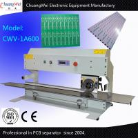 600mm Cutting Length Automatic PCB Separator with One Circular Blade and One Linear Blade for sale