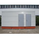 China Multi-function Steel Frame Prefab Modular Homes For Mobile Toilet / Office for sale
