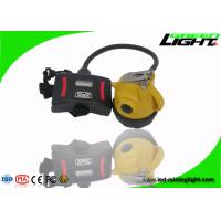 392g Lightweight Semi-corded Cap Lamp IP68 Waterproof LED Mining Headlamp 15000Lux 1.7W High Beam Flame Resisitant for sale