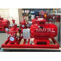China 500GPM@175PSI, Ul Listed ,MOTOR DRIVER ,Split casing Pump set ,with Jockey Pump,50HZ-380) for sale
