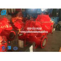China UL / FM 2000gpm @ 135-170PSI Diesel Engine Driven Fire Pump Set With Single Stage Fire Water Pump Used In Building for sale