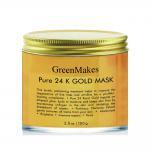 Anti Wrinkle Face Mask , 24k Gold Essence Peel Off Face Mask For Blackheads for sale