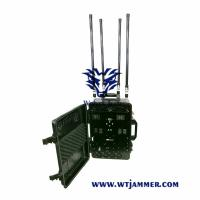 China High Power Draw Bar Box 6-8 Channels Mobile Signal Jmmer 300W Exspcially for Drone  Jammer for sale