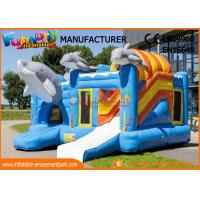 Large Inflatable Bouncer Slide For 30 People / Inflatable Jumping Castle for sale