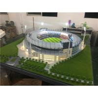 China LED Light Stadium Scale Model , Miniature Mockup Maquette For Exhibition for sale