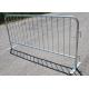 China Traffic Road Safety Pedestrian Crowd Control Barriers Heavy Duty Galvanized for sale