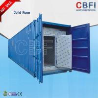 Color Steel Panels Sliding Door Container Cold Room -18 - -25 For Fish And Meat for sale