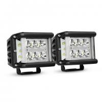 China Work Light CREE LED Off Road Driving Light 2 X 45W Side Shot Pod Cubes For Vehicle for sale