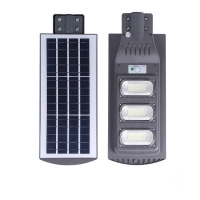 China 150lm/W 60w 200W All In One Street Light Remote Control for sale