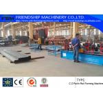 GCr15 C Z Purlin Roof Panel Roll Forming Machine