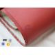 China 700Gsm 0.7mm Silicone Coated High Silica Fabric 800℃ Electrical Insulation for sale