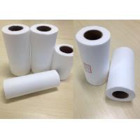 China Universal Parallel Cotton Cloth Material Spunlace Rolls Clear Surface Lint Free supplier