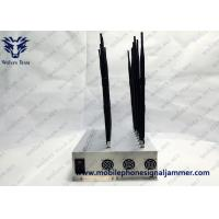 China Full Bands Adjustable 16 Antennas Powerful GPS WIFI 3G 4G All Cell Phone Signal Jammer for sale