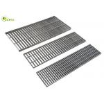 Carbon Steel Floor Drain Grating Hot Dip Galvanized Stair Grid Catwalk Treads for sale