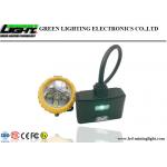 Semi Corded Mining Cap Lights 15000lux High Brightness With Low Power Warning Function for sale
