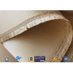 Woven Silica Fabric 1480℉ Temperature Resistant 1.3mm Silica Fiberglass Fabric for sale