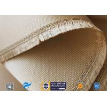 China Woven Silica Fabric 1480℉ Temperature Resistant 1.3mm Silica Fiberglass Fabric manufacturer
