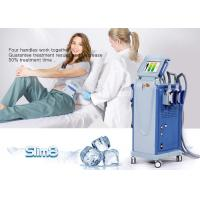 Cellulite Reduction Cryolipolysis Machine 4 Handpiece Fat Freezing Machine for sale