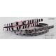 Skinny Silk Printing Kids Fashion Belts Zebra / Leopard Printing Patterns Available for sale