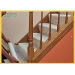 China Clear Adhesive Stairs Carpet Protection Film Heavy Duty Carpet Protector Film for sale