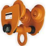 Graceful Appearance GCT 610 Series Plain Trolley Manual Chain Hoist For Lifting Goods