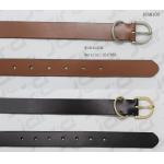 SGS Passed Mens Casual Belts With D Shape Metal Loop & Matt Gun Metal Buckle for sale