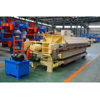 1250mm Big PP Plate Automatic High Pressure PP Chamber Filter Press for sale