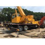 Second Hand Mobile Cranes XCMG 25T QY-25K For Construction Original Paint