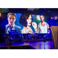 Indoor stage LED screen seamless video wall indoor LED display screen die casting cabinet for sale
