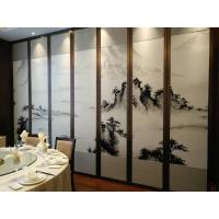 Hotel Banquet Hall Acoustic Partition Walls Landscaping Leather Finishes ISO 9001 for sale