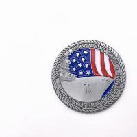Metal Military Challenge Coins / 3D Antique Silver Coins For Promotional for sale