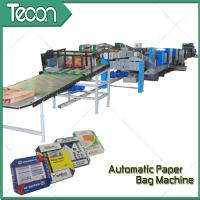 China External Reinforcement Chemical Cement Paper Bag Forming Machine 4 Color Printing for sale