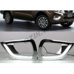 ABS Plastic Daytime Running Light Cover For Nissan Navara NP300 2016 DRL​ for sale