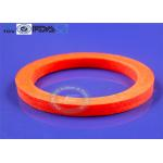 Heat Stabile Molded Silicone Parts , Reusable Silicone O Ring Gasket for sale