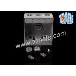 Weatherproof Electrical Boxes Two Gang Outlet Branch Circuit Wiring for sale