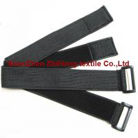 Buckle Clasp Nylon Adjustable Hook And Loop Fastener Strap For Wrist  Armband Straps for sale